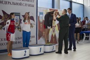 Тольяттинка стала лучшей на Чемпионате Росгвардии по плаванию
