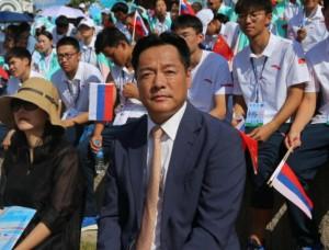 Вэнг Ли Вэй, руководитель отдела молодежного спорта Ген администрации Китая по спорту.