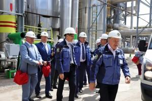 Председатель Правительства Самарской области провел на ПАО «ТОАЗ» рабочие встречи с представителями бизнеса