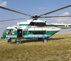 Вертолеты Самарской таможни - на борьбе с контрафактом