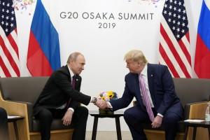 В Осаке проходит встреча Путина и Трампа