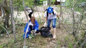 Более 200 человек убирали мусор на острове Поджабный в Самаре
