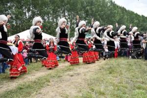 В Камышлинском районе Самарской области стартовал Х Всероссийский сельский Сабантуй