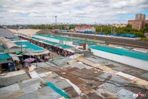Глава КбшЖД пообещал разобраться с рынком на платформе Пятилетка в Самаре