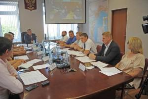 В Сызрани под руководством министра лесного хозяйства Александра Ларионова проведено выездное совещание