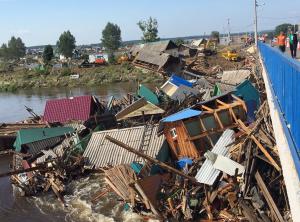 Число пострадавших в регионе от стихии увеличилось до 340 человек, включая 59 детей. Все они госпитализированы. Непригодными для жизни признаны более трёх тысяч затопленных домов.