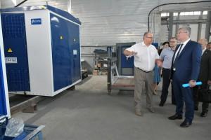 Виктор Кудряшов посетил АО «Самарский электротехнический завод», где осмотрел производственные площадки и провел рабочее совещание.