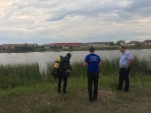 В Волжском районе утонул молодой человек