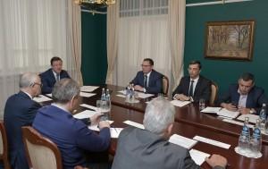 В ходе встречи обсуждалась реализация национальных проектов и перспективные планы поддержки инициатив СО.