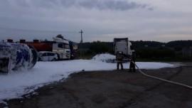 В Самарской области из-за ДТП нефть разлилась по дороге