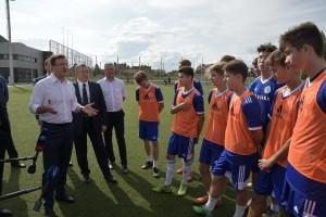 Академия Коноплева - одна из самых известных и успешных футбольных школ России, ее воспитанники выступают за российские и зарубежные профессиональные футбольные клубы.