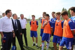 Академию футбола имени Юрия Коноплева в Тольятти ждет модернизация