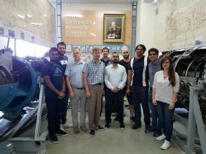 Аспиранты из ведущих европейских вузов приезжают в Самару за фундаментальными знаниями в области двигателестроения.