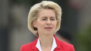 Среди прочего она ранее выступала за создание объединённой армии европейских государств.