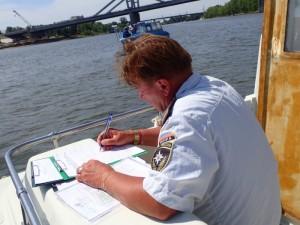Сотрудниками ГИМС проведен профилактический рейд в акватории реки Самары.