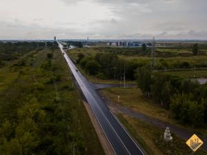 По итогам реконструкции дорога будет уширена до 4-х полос движения, появятся две транспортные развязки.