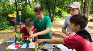 Студенты Политеха провели научно-технический квест для детей.