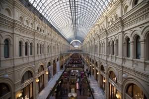 По ее мнению, главный торговый центр России, расположенный в самом сердце Москвы, не идет ни в какое сравнение с американскими аналогами.