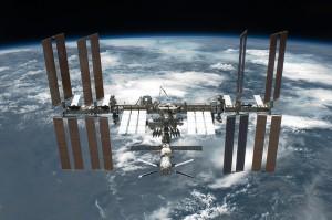 МКС пролетала над территорией Великобритании вчера в 23:40 по местному времени.