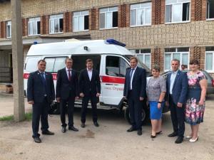Михаил Ратманов с рабочим визитом посетил Кинель-Черкасский, Сергиевский, Похвистневский районы и город Отрадный.
