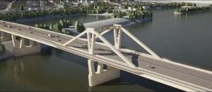 Движение по новому Фрунзенскому мосту планируется открыть этой осенью.