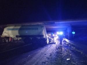 ДТП с погибшей произошло на Самарской объездной дороге