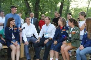 Дмитрий Азаров пообщался с участниками форума iВолга 2.0 в Самарской области
