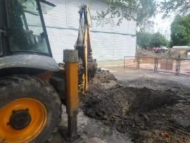 В Самаре устранили утечку, из-за которой без воды оставались потребители 12 многоквартирных домов