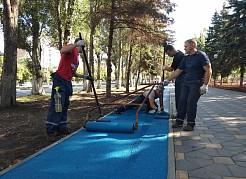 Сквер им. В. Фадеева станет спортивным центром Октябрьского района и местом для семейного отдыха.
