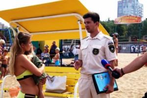 Инспекторы ГИМС в выходные дни патрулировали пляжи Самары