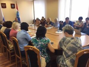 Участники встречи выразили заинтересованность в дальнейшем улучшении качества жизни ребят, живущих в ДДИ, а также подготовили рекомендации по этому вопросу.