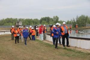 Министр энергетики и ЖКХ Самарской области Сергей Марков посетил городские очистные канализационные сооружения