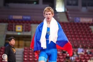 Самарец - победитель первенства мира по греко-римской борьбе