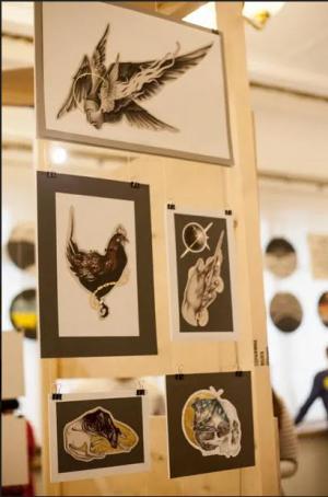 Состоялось открытие фестиваля самарской иллюстрации Барбазуль»-2 Иллюстраторы в городе. Афиша