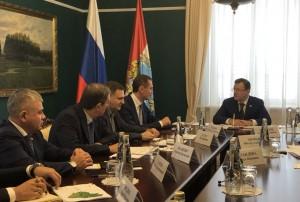 Дмитрий Азаров провёл встречу с руководством Сбербанка.