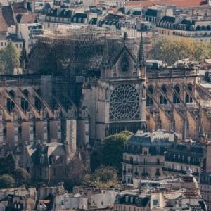 Реконструкцию Собора Парижской Богоматери прервали