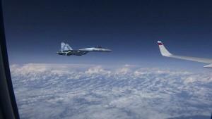 Истребители из состава балтийской миссии воздушного патрулирования НАТО были направлены для