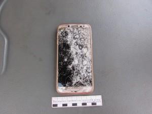 В Жигулевске молодой человек намеренно разбил телефон девушки.