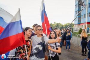 В день Государственного флага самарцы смогут получить ленты триколора и установить рекорд России