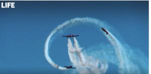Российские лётчики показали новую фигуру высшего пилотажа Пропеллер