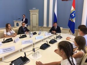 Дмитрий Азаров вручил паспорта юным самарцам