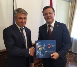 Стороны обсудили вопросы сотрудничества при реализации в Самарской области перспективных проектов в транспортной сфере.