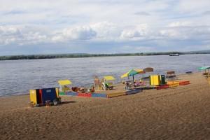 Купаться на четырех самарских пляжах не рекомендуют