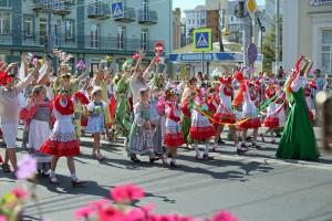 Фестиваль цветов порадовал самарцев: ФОТО