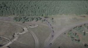 Минобороны показало видео масштабных учений ЗВО с сотнями танков и гаубиц
