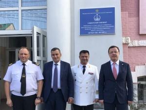С этого года Самарский речной техникум получает новый корпус и новый статус — филиала Волжского государственного университета водного транспорта.