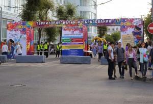 Красочный фестиваль студентов прошел сегодня в Самаре: ФОТО