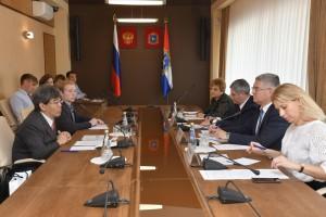 В областном Правительстве состоялась официальная встреча с представителем посольства Японии в России