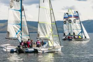 В Тольятти на базе Яхт-клуба Дружба продолжается главная регата страны