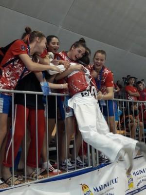 Спортсменка СШОР2  завоевала золотую медаль.